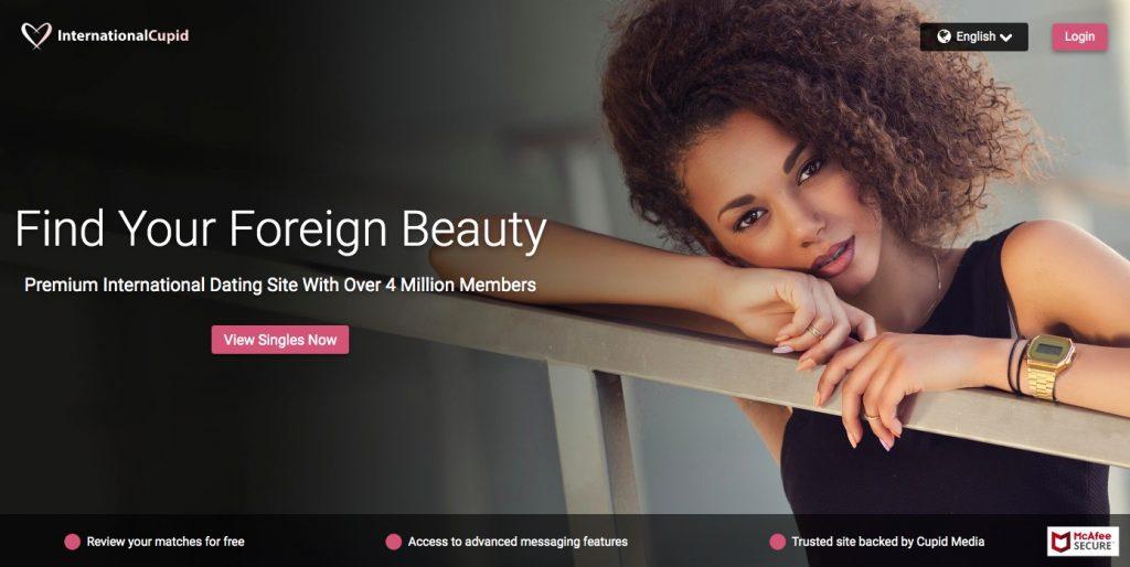 Internationalcupid main page
